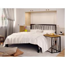 BERGAMO-1 - металлическая кровать ТМ МЕТАКАМ